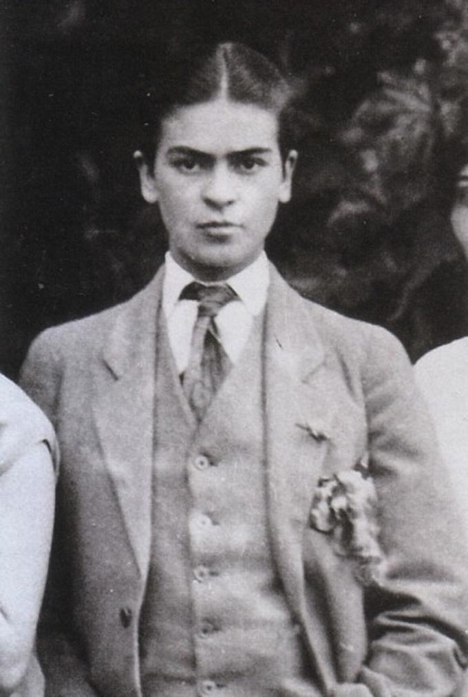 Aos 16 anos, em 1924