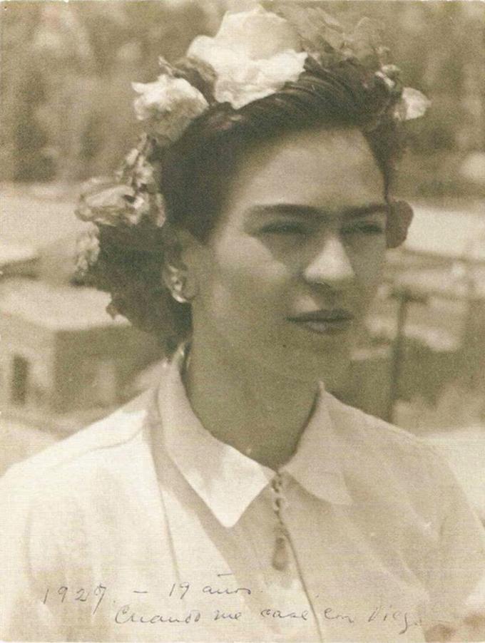 Aos 19 anos, em 1927