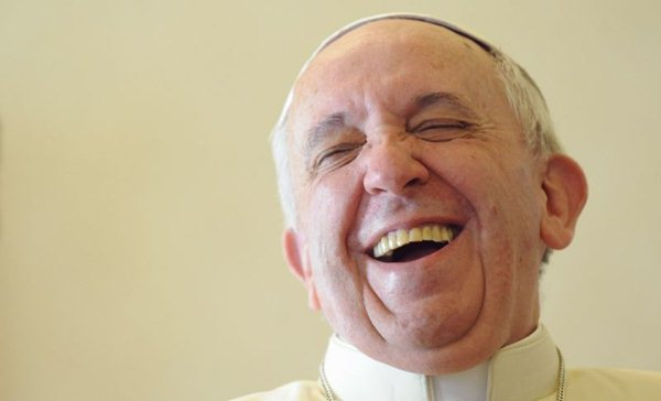 Papa sorrindo