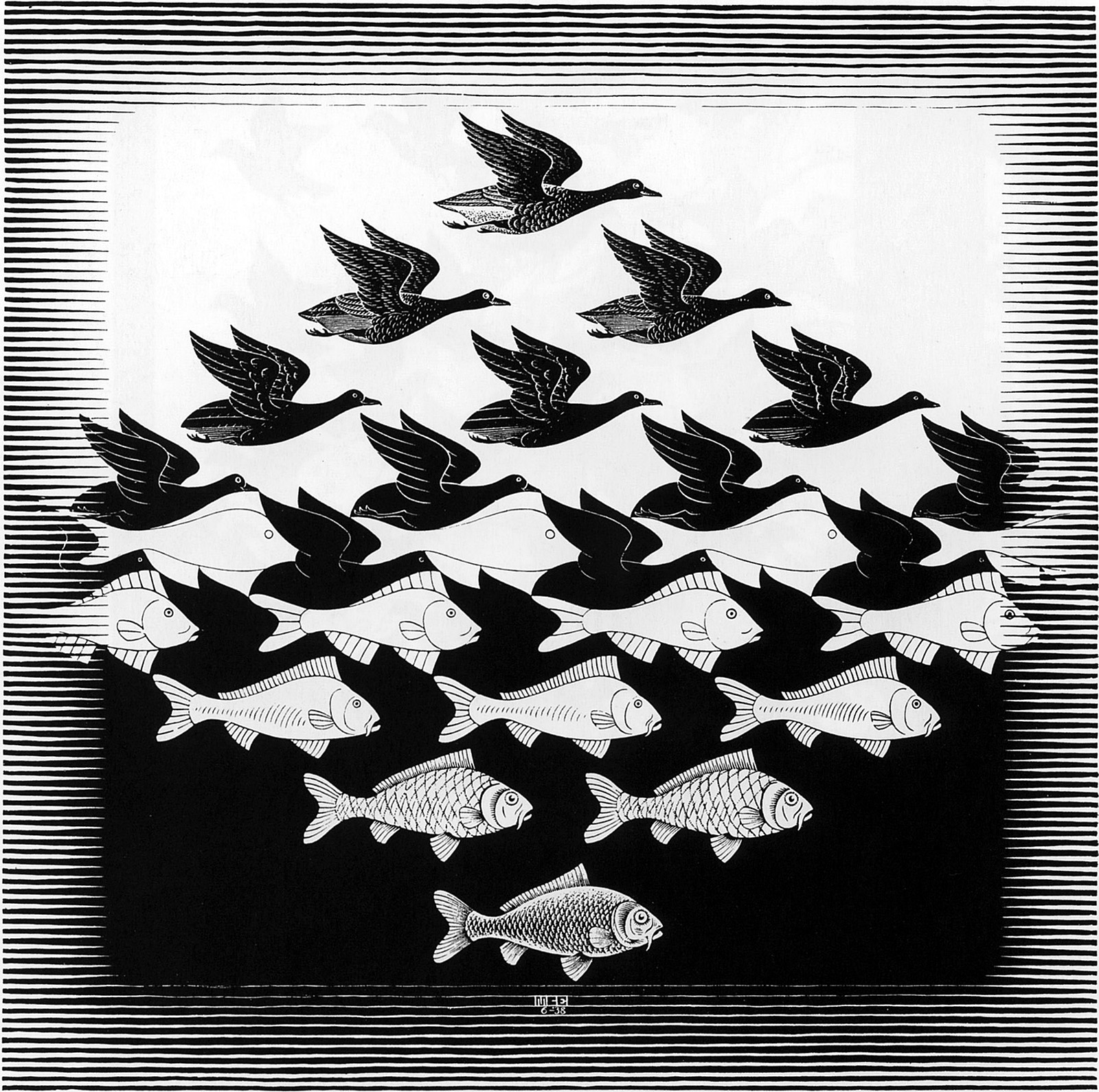m_c_escher_selected_sky and water i