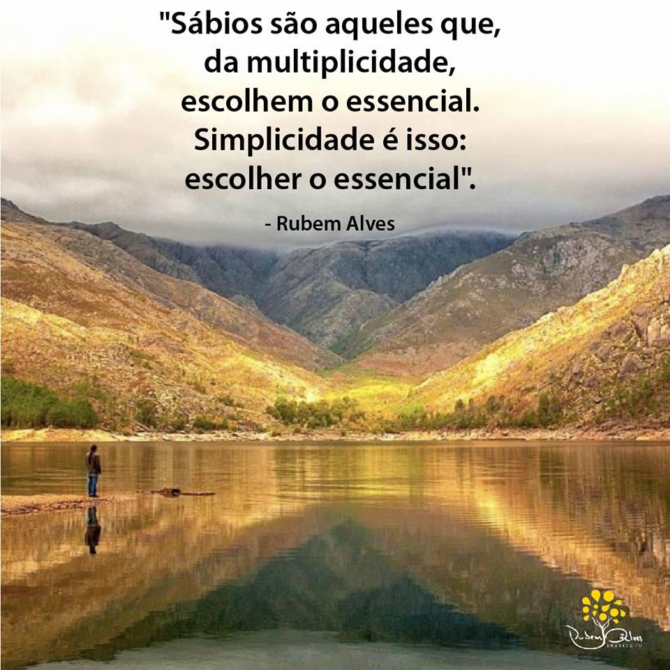 Rubem Alves frases