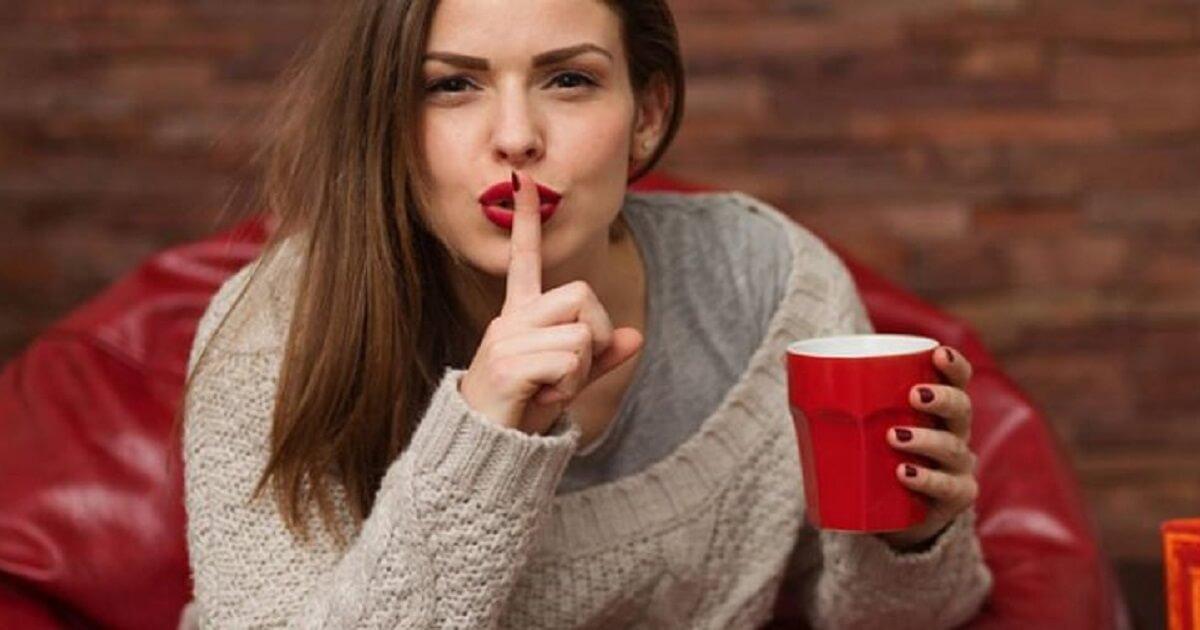 Ficar de boca fechada é um dos maiores segredos da paz de espírito